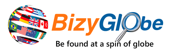 BizyGlobe - Local business on the globe, be found at a spin